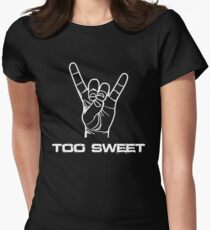 Too Sweet Women's Fitted T-Shirt