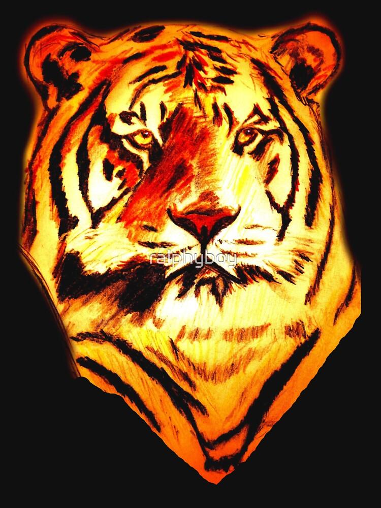 tiger t-shirt by ralphyboy
