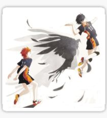 Hinata follows small giant's footsteps Sticker