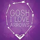Gosh I Love Arrows by KitsuneDesigns