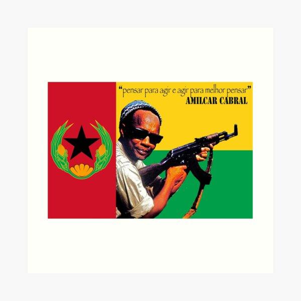 Palavra of Amilcar Cabral Art Print
