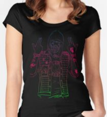 watch dogs 2 wrench  Women's Fitted Scoop T-Shirt