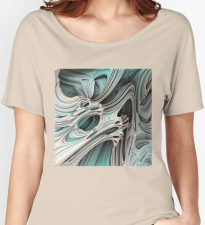 Cosmic creature #Fractal Relaxed Fit T-Shirt