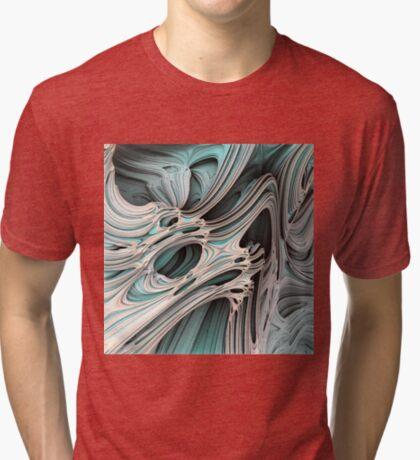Cosmic creature #Fractal Tri-blend T-Shirt