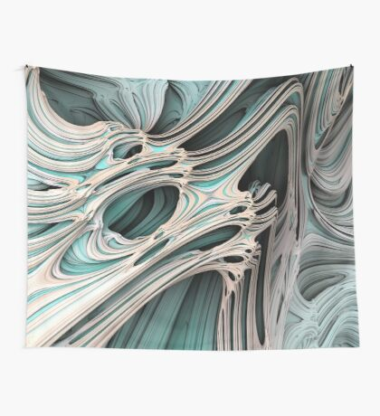 Cosmic creature #Fractal Wall Tapestry