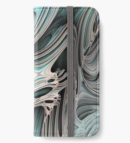 Cosmic creature #Fractal iPhone Wallet