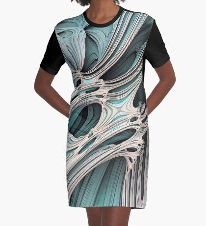 Cosmic creature #Fractal Graphic T-Shirt Dress