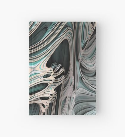 Cosmic creature #Fractal Hardcover Journal