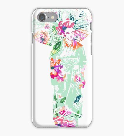 geisha 01-3 iPhone Case/Skin