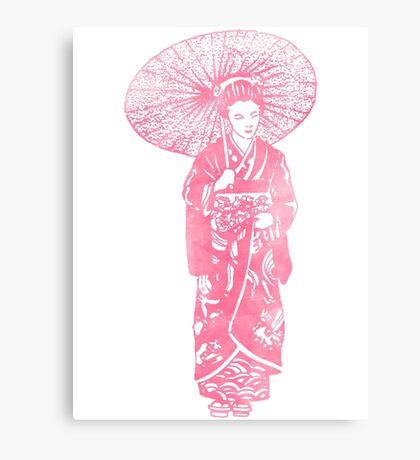 geisha 01-4 Canvas Print