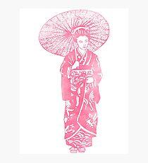 geisha 01-4 Photographic Print