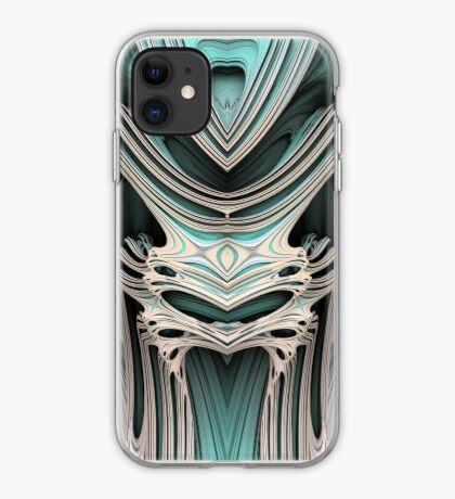 Cosmic creature #Fractal B iPhone Case