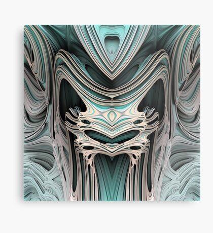 Cosmic creature #Fractal B Metal Print