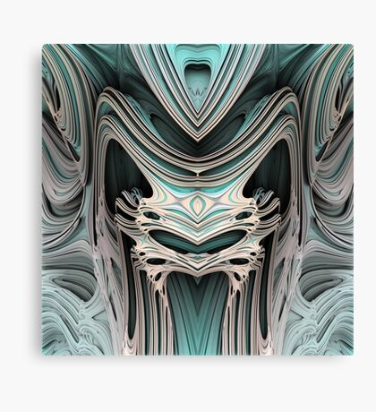 Cosmic creature #Fractal B Canvas Print