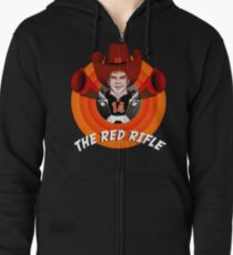The Red Rifle Zipped Hoodie