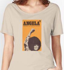 Angela Davis - Portait Of A Revolutionary Women's Relaxed Fit T-Shirt