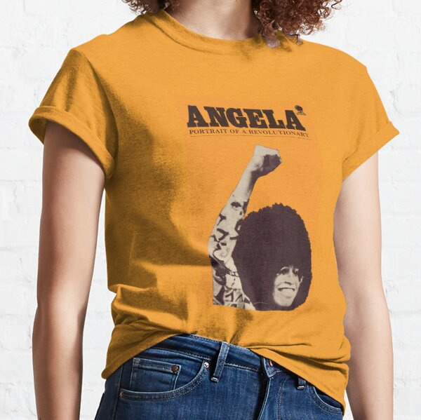 Angela Davis - Portait Of A Revolutionary Classic T-Shirt