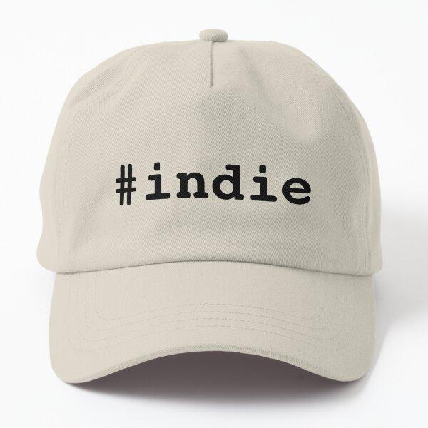 Hashtag Indie - Black Dad Hat