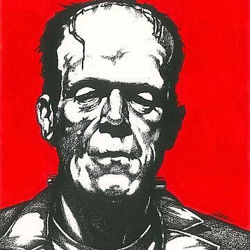 Frankenstein's Monster by larryweber