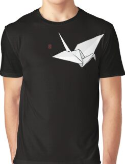 Paper Crane Color Graphic T-Shirt