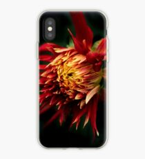 Flaming Dahlia iPhone Case