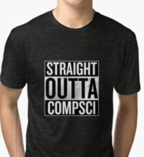 Straight Outta Compsci Tri-blend T-Shirt