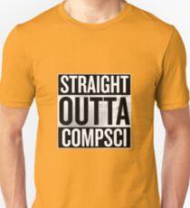 Straight Outta Compsci Unisex T-Shirt