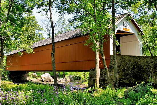 Sheard's Mill Covered Bridge by DJ Florek