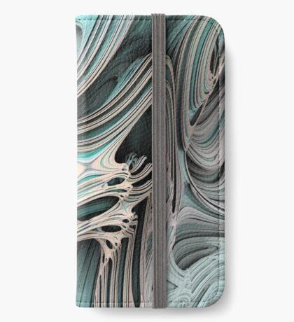 Cosmic creature #Fractal B iPhone Wallet