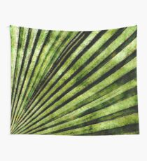Green Palm Tree Frond Wall Tapestry