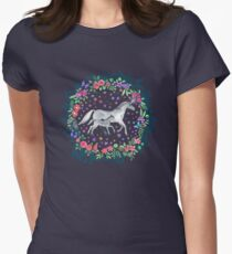 Mama and Baby Unicorn Womens Fitted T-Shirt