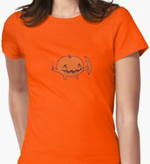 Halloween slice of life Women's Fitted T-Shirt