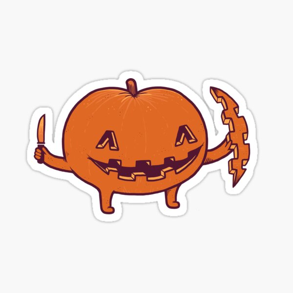 Halloween slice of life Sticker