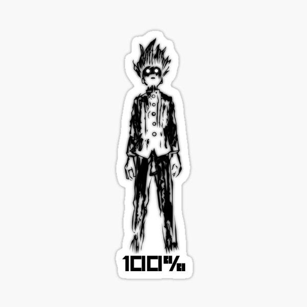 Mob 100% Sticker