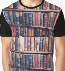 Lost In The Library Graphic T-Shirt