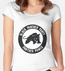 Black Panther Party - panther power Women's Fitted Scoop T-Shirt