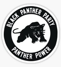 Black Panther Party - Panther macht Sticker