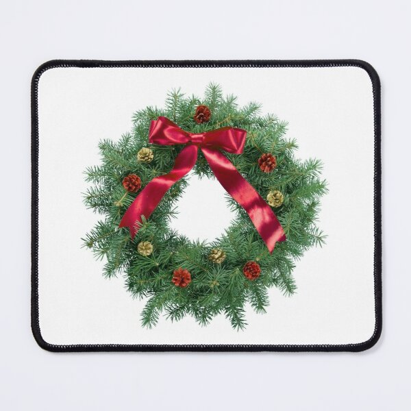 Merry Christmas Season Vintage Decorations Design Stickers Mouse Pad
