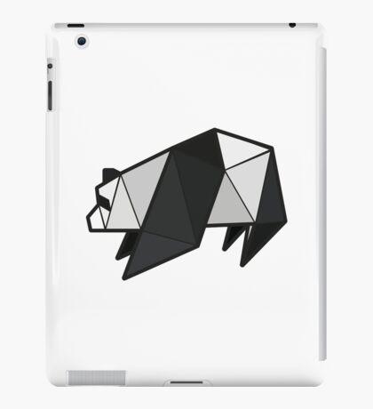 Origami Panda iPad Case/Skin