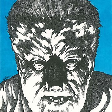 Wolf Man by larryweber