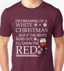 White Christmas Unisex T-Shirt