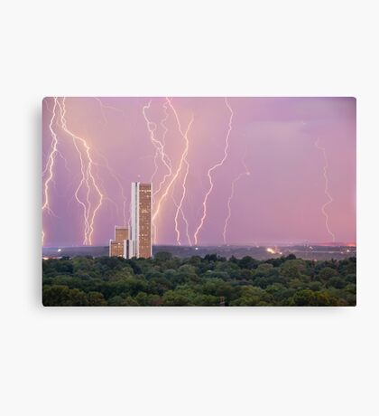 Electric Night Canvas Print