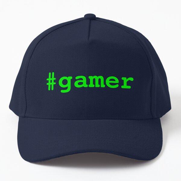 Hashtag Gamer - Green Baseball Cap