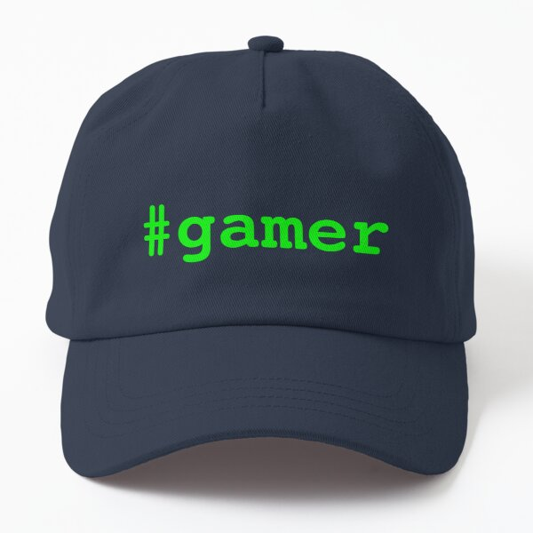 Hashtag Gamer - Green Dad Hat