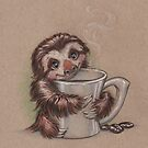 Sloth Coffee by justteejay