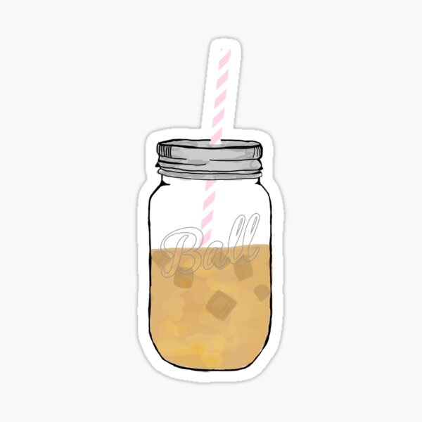 love iced coffee Sticker