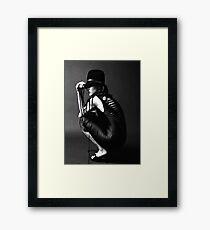 Back/Hat Framed Print