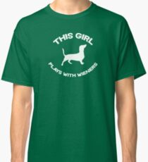 This girl plays with wieners Classic T-Shirt