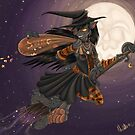 WitchyKitty by MishMonster