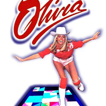 Olivia Newton-John - Roller Disco -70's  by retropopdisco